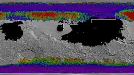 """La NASA elabora """"mapa del tesoro"""" para encontrar el agua de Marte"""
