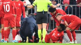 Vídeo: Futbolista francés de Bayern de Múnich sufre horrible lesión