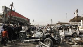 Ataque terrorista con coche bomba deja 7 muertos en Irak