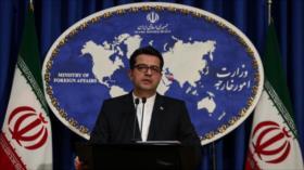 Irán repudia postura 'irresponsable' de Alemania sobre disturbios