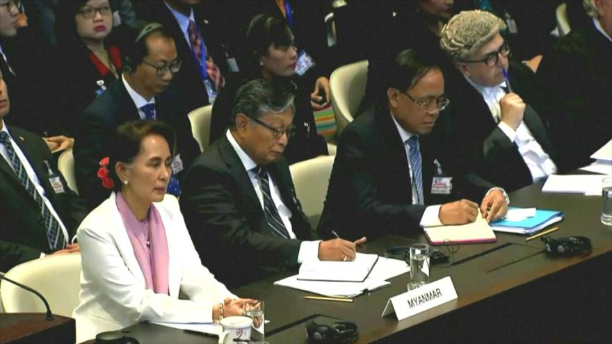 La líder birmana niega genocidio contra los musulmanes Rohingya