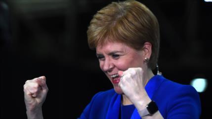 Escocia clama por un nuevo referéndum tras resultados de comicios