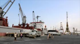 Yemen confirma retención por Riad de buques de ayuda humanitaria