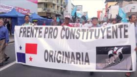 Continúa el rechazo contra reformas constitucionales en Panamá