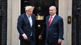 Líderes israelíes, eufóricos por victoria de Boris Johnson