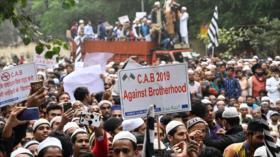 Una ley contra musulmanes causa protestas en La India