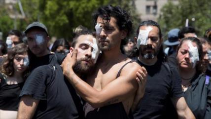 Vídeo: La policía reprime otra jornada de protestas en Chile