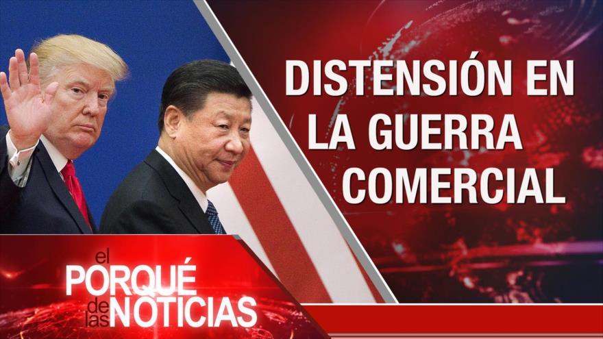 El Porqué de las Noticias: EEUU interfiere en El Líbano. Represión en Chile. Tregua China-EEUU