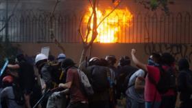 Novena semana de protestas contra Piñera en Chile