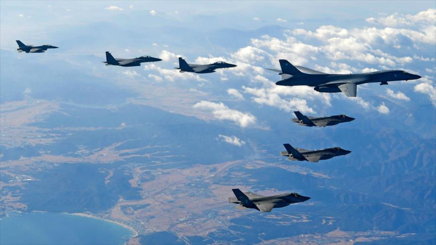 Seúl muestra cómo destruye misiles norcoreanos con F-35 de EEUU