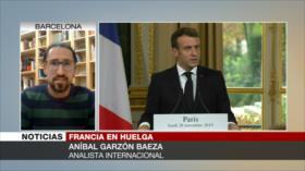 """""""Política neoliberal de Macron busca empobrecer a los jubilados"""""""