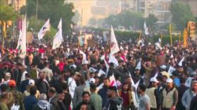 Protestas en Irak. Sanciones de EEUU. Huelga en Francia