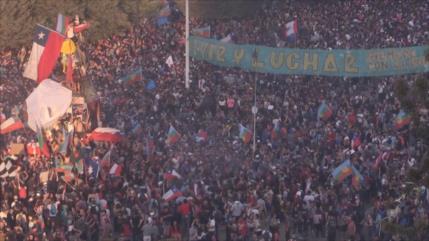 Chilenos protestan por novena semana consecutiva contra Piñera