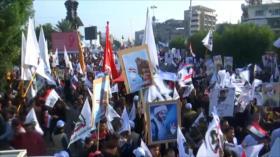 Iraquíes condenan el oportunismo de EEUU con protestas del país