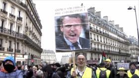 Marchas en Irak. Condena contra Al-Bashir. Protestas en Francia