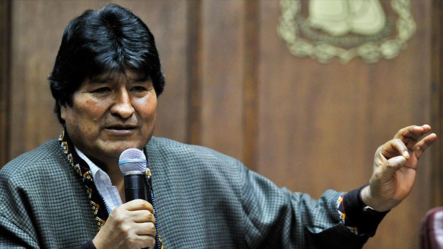 El depuesto presidente de Bolivia, Evo Morales, en Ciudad de México, 27 de noviembre de 2019. (Foto: AFP)