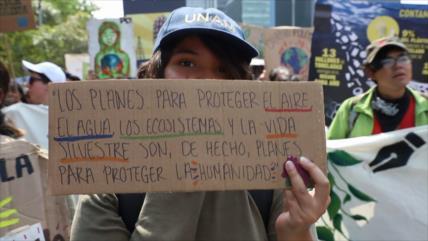 Mexicanos llaman a Gobierno a atender crisis medioambiental