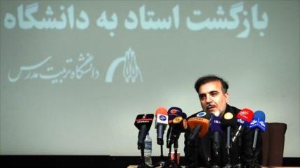 Científico liberado: EEUU no está contento con el progreso de Irán