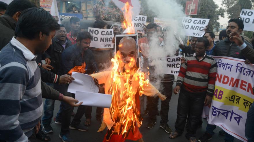 6 muertos en protestas por polémica ley antimusulmana en La India