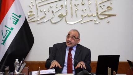 Abdul-Mahdi censura sanciones de EEUU a fuerzas populares