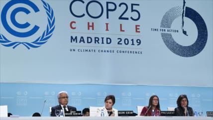COP25 consigue un acuerdo mínimo para reducir las emisiones