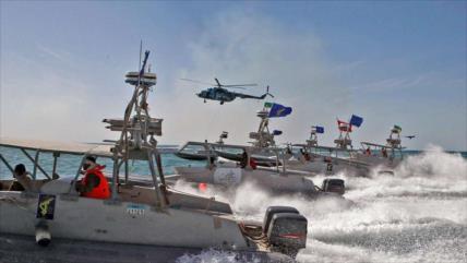 'Irán vigila buques enemigos que ingresen en el Golfo Pérsico'