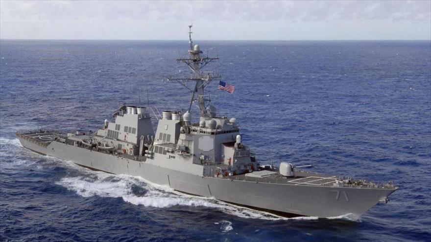El destructor estadounidense USS Ross (DDG-71).