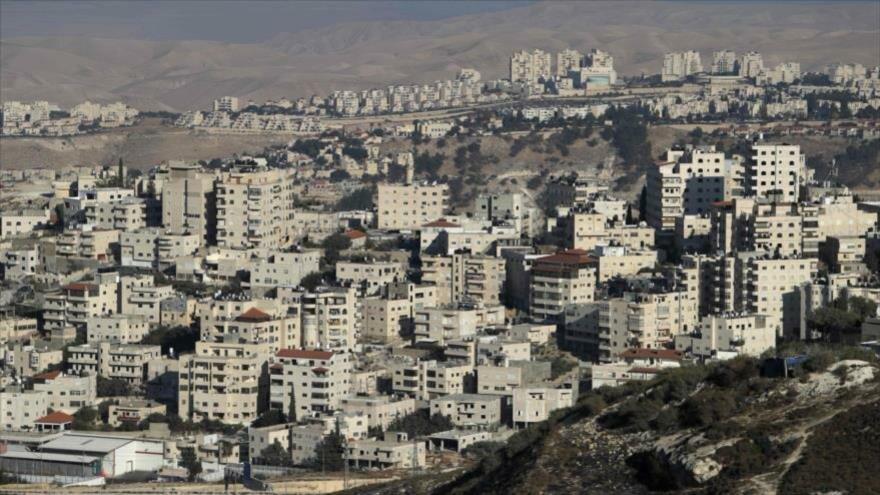 Una visión general del asentamiento israelí Maale Adumim, en Cisjordania ocupada, 27 de septiembre de 2017. (Foto: AFP)