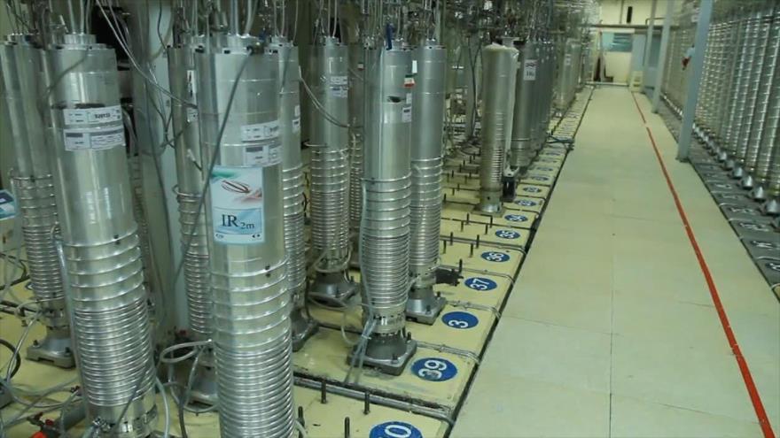 Las centrifugadoras instaladas en una planta nuclear iraní.