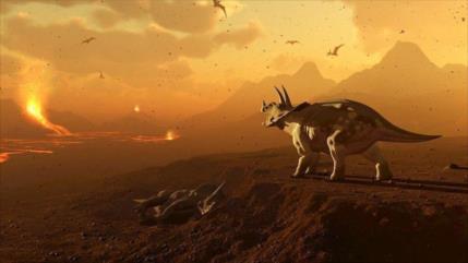 Tierra ya estaba intoxicada antes de extinción de dinosaurios