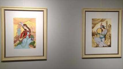 Exhiben en Teherán las obras de un famoso miniaturista iraní