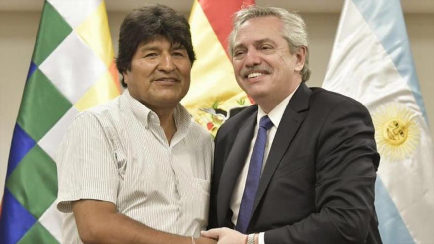 Argentina desafía a Bolivia de Áñez y deja que Evo haga política | HISPANTV