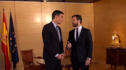 Pablo Casado rechaza facilitar la investidura de Sánchez en España