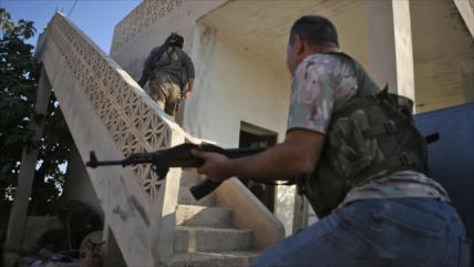 Terroristas apoyados por Turquía roban propiedades de los sirios