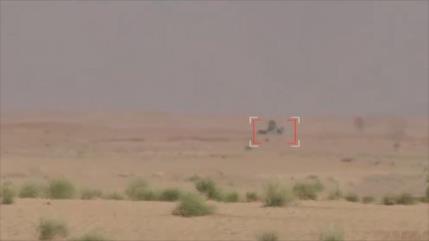 Vídeo muestra cómo los yemeníes destruyen carros militares saudíes