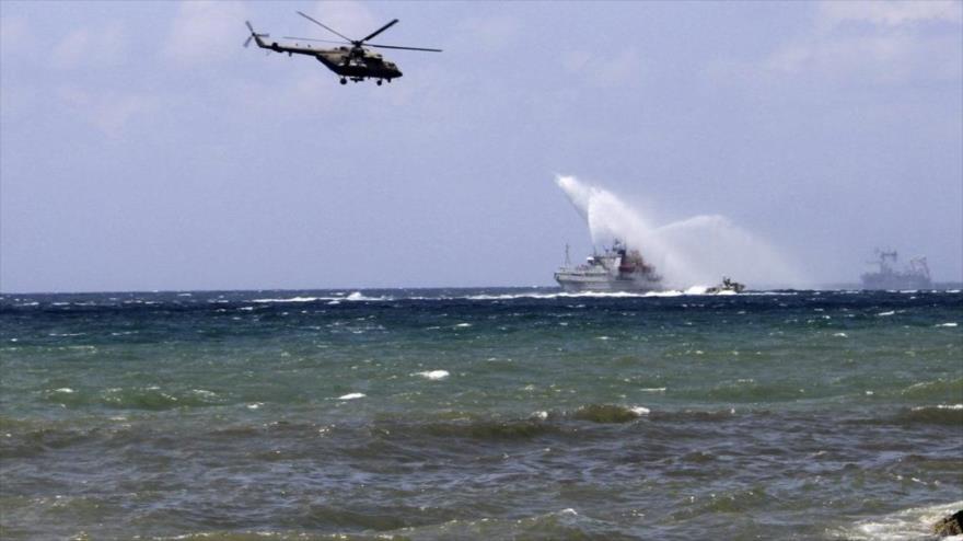 Rusia y Siria inician maniobras militares en el mar Mediterráneo   HISPANTV
