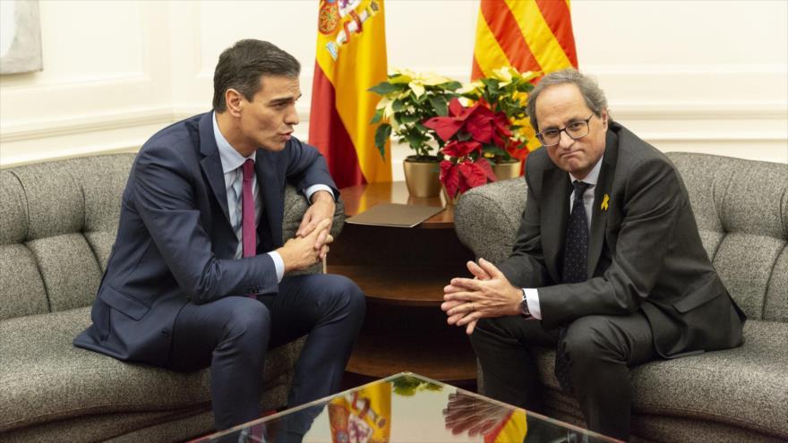 Cataluña pide fin de represión y reconocer su autodeterminación | HISPANTV
