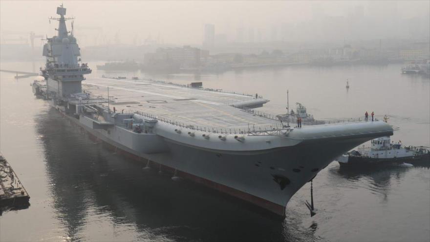 Ejército chino aumenta potencia militar con segundo portaviones