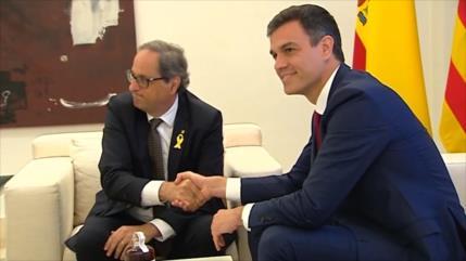 Pedro Sánchez está dispuesto a reunirse con Quim Torra