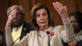 Trump: Pelosi mina la democracia de EEUU con impeachment