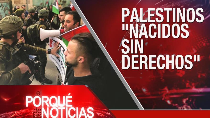 El Porqué de las Noticias: Agresión israelí a palestinos. Ley de ciudadanía india. Golpe contra Morales.
