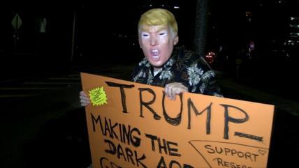 Miami se suma a las protestas nacionales contra Donald Trump