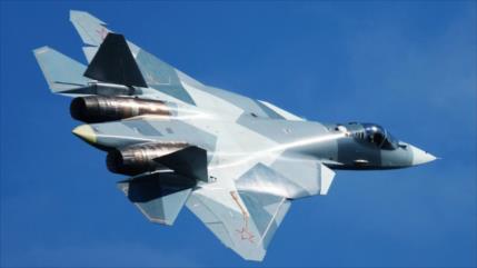 Vídeo: Caza ruso Su-57 pasa segunda prueba con éxito en Siria