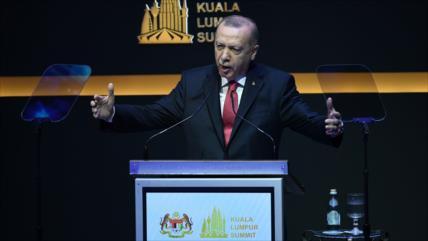 Siria: Erdogan abusa de foros mundiales para promover sus complots