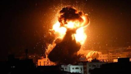 Israel ataca varias posiciones de HAMAS en la Franja de Gaza