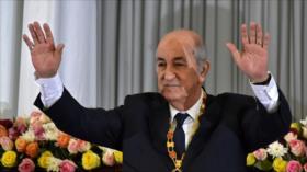 Abdelmadjid Tebboune juramenta como nuevo presidente de Argelia