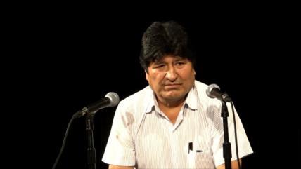 "Evo Morales: ""Sigo siendo presidente de Bolivia"""