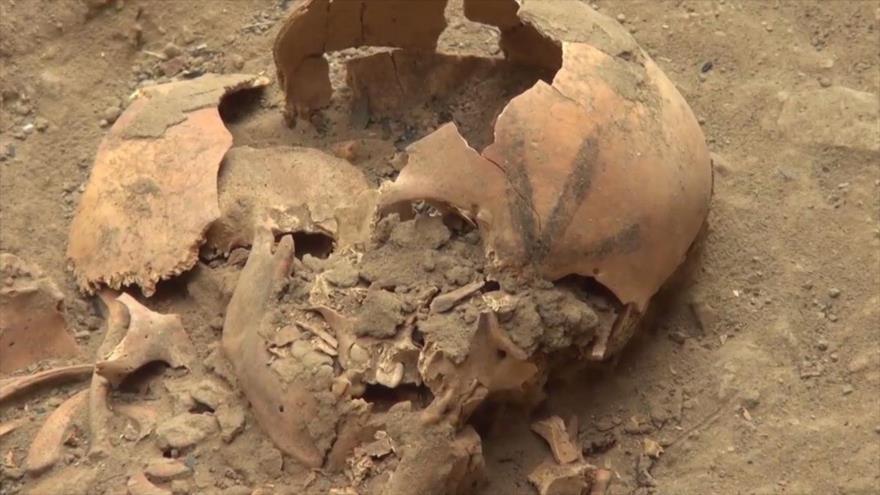 Vídeo: Encuentran en Perú esqueletos de niños con cabezas tatuadas | HISPANTV