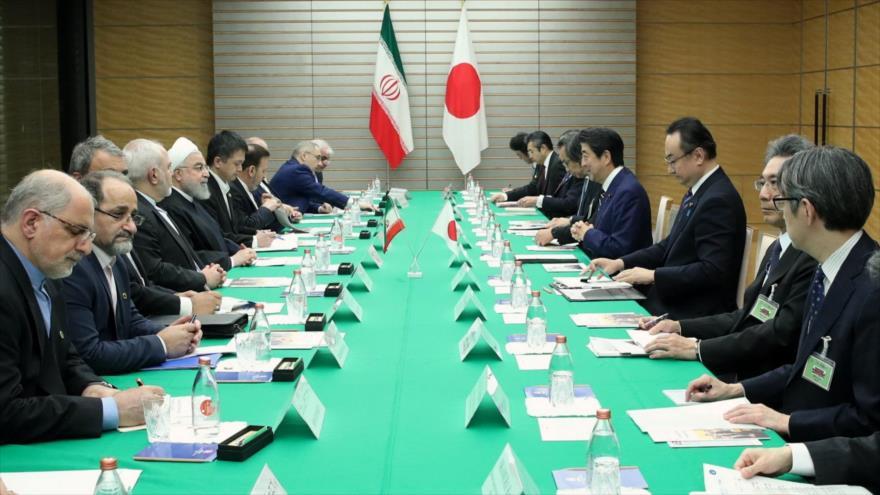 Rohani desde Japón: Unilateralismo de EEUU amenaza la paz mundial   HISPANTV