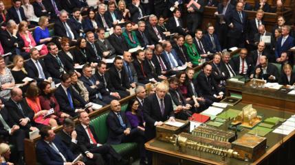 El Parlamento británico aprueba el plan de Johnson para el Brexit